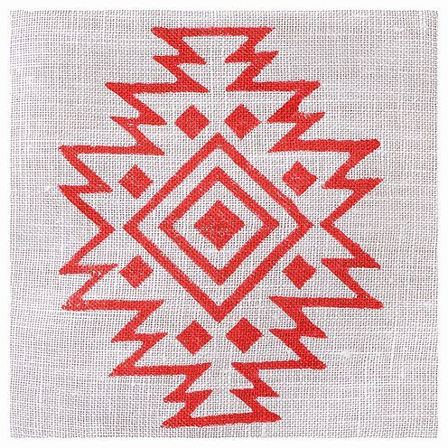 Fabric Creations™ Stempel, Medium Aztec Tile