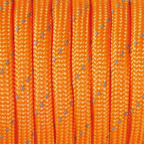 Paracord, reflektierend, 4 mm x 50 m, orange