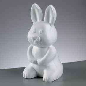 Styroporform, Hase, 240 mm.