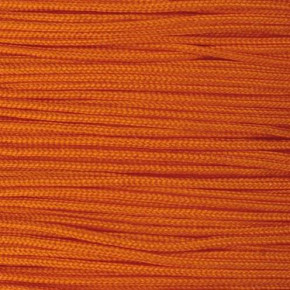 Schmuckkordel, 0, 5 mm, 50 g / ca. 120 m, orange – Rollenpreis