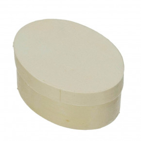 Spandose, oval, d 75 x 55 mm H 30 mm, roh