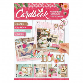 Designpapier Cardbook, Just Married, A4 / 210 x 297 mm,