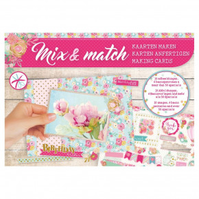 Designpapier Mix & Match, Birthday, 21 x 14,8 cm,