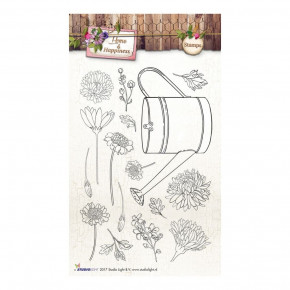 Stempel Clear, Home & Happiness, A6 / 105 x 148 mm, 16 - teilig, transparent 167