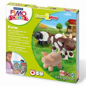 Fimo® Kids form & play, Farm, 7 - teilig,