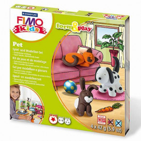Fimo® Kids form & play, Pet, 7 - teilig,