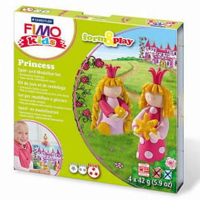 Fimo® Kids form & play, Princess, 7 - teilig,