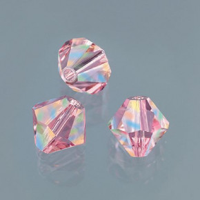 Swarovski Facettperle, 4 mm, 25 Stück light rose - AB