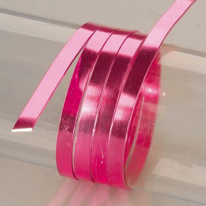 Aludraht, flach, 1 x 5 mm, 2 m, pink