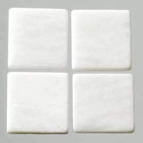 MosaixPur-Echtstein, 10 x 10 x 4 mm, 200 g ~ 205 Stck weiss Marmor
