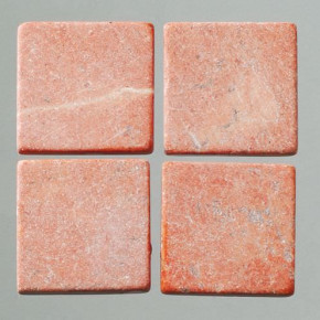 MosaixPur-Echtstein, 10 x 10 x 4 mm, 200 g ~ 205 Stck rot