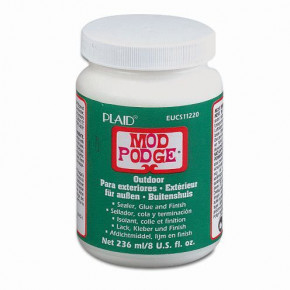 Mod Podge, Outdoor Finish / wetterfest, 236 ml.