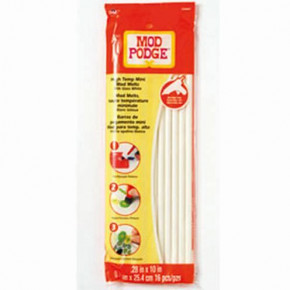 Mod Podge, Melts, d= 70 x 254 mm, 16 Stk., weiß