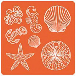 Mod Podge, Mod Mold Sea Life, 95 x 95 mm, 7 Designs,