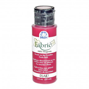FolkArt Fabric Paint opaque, , 59 ml, magenta
