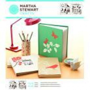 Martha Stewart Medium Stencil Portfolios, Birds & Berries, 22 x 24 cm, 2 Stück
