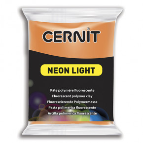 Cernit Neon, 63 x 55 x 15 mm,56 g,orange