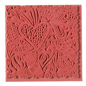 Texturmatte, Hearts, 90 x 90 mm, 1 Stk.,